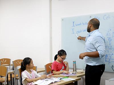 Hình ảnh các lớp tiếng Anh trẻ em tại AMA